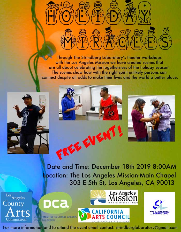 holiday miracles flyer